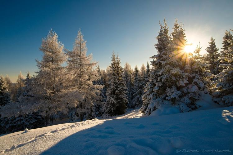 Горная Башкирия (зима)